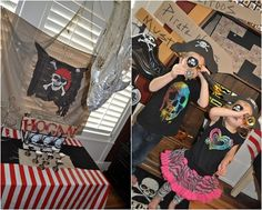 Fiesta de cumpleaños pirata para vivir aventuras mil... Pirate Party, Pirates, Party Themes, Crochet, Birthday, Kids Pirate Parties, Pirate Cakes, Live, Birthdays