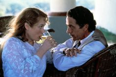 Meryl Streep and Jeremy Irons | The House of the Spirits