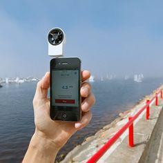 Shaka wind meter.  #tech #gadget #electronics #apple #iphone