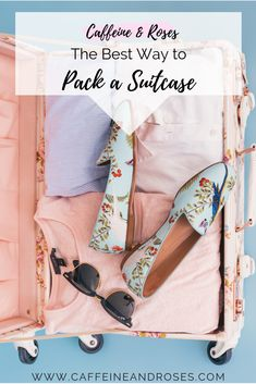 I fit everything I need for a vacation into my carry-on. Check out my detailed step by step for the best way to pack a suitcase! Suitcase Packing, Packing List For Travel, Packing Tips, Paris Packing, Europe Packing, Traveling Europe, Backpacking Europe, Travelling Tips, Travel Gadgets