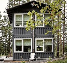 A container home in Finland