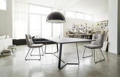 Essgruppen - Kollektion von Haas Banquette, Office Desk, Dining Table, Furniture, Home Decor, Chair, Lunch Room, Essen, Desk Office