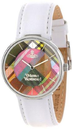 Vivienne Westwood Women's VV020WH Tartan Swiss Quartz White Leather Strap Watch Vivienne Westwood http://www.amazon.com/dp/B008J7GK5U/ref=cm_sw_r_pi_dp_Udoyub0M3MXBQ  220.00