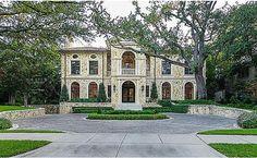 Italian eclectic style home, Highland Park, Texas