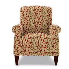 Charlotte High Leg Recliner by La-Z-Boy in Rouge fabric... A contemporary chair for Kip
