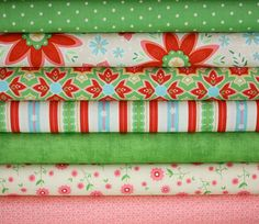 Delighted Fabric by The Quilted Fish for Riley by fabricshoppe, $19.25