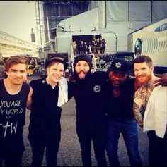 Fall Out Boy and Ghost Town
