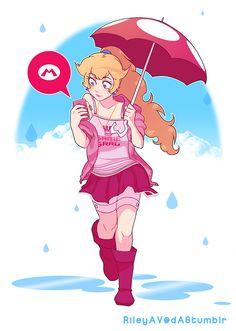 Princess Peach by Riley AV