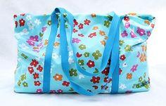 Nähanleitung für eine Strandtasche für den badeurlaub