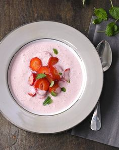 jahodova polievka