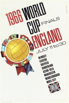 1966 world cup finals england football uk / 1966 / sport posters / carvosso / original vintage sport advertising… / mad on collections - browse and Real Madrid, Manchester United, World Cup Logo, 1966 World Cup Final, First World Cup, Sports Advertising, Advertising Poster, World Cup Russia 2018, Soccer Gifts