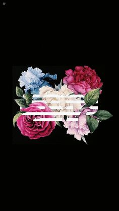 Flower Wallpaper, Wallpaper Backgrounds, Iphone Wallpaper, Grid Wallpaper, Bigbang Wallpapers, Flower Road, Vip Bigbang, Bigbang Logo, Bigbang Members