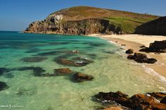 Portheras Cove, Cornwall South of St Ives Cornwall Coast, Cornwall Beaches, Devon And Cornwall, St Ives Cornwall, Places To Visit Uk, Places To Go, Landscape Photography, Travel Photography, British Beaches