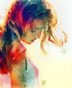 She's like a rainbow  Art collection By Wanda Yon