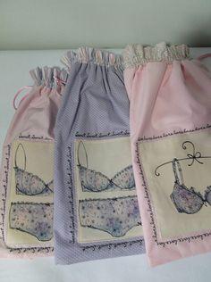 Saquinhos para lingerie