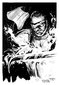 Beric Dondarrion by stokesbook.deviantart.com on @deviantART