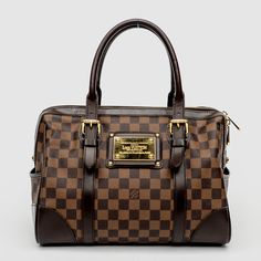 Louis Vuitton Damier Berkeley Satchel. I usually use this bag for special occassions but ive been carrying it a lot more!!  Its a,beauty :-)