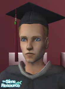 Morague's Male Grad Caps