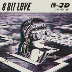 8 Bit Love - IN-3D EP by Andrew Fairclough, via Behance