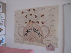 S.martinho Crafts For Kids, Classroom, Frame, Babys, Home Decor, Autumn Activities, Sint Maarten, Crafts, Log Projects