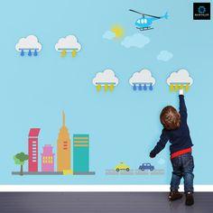 Cloud Kids Hanger by Quim Falcó, via Behance