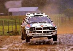 Lancia Delta Integrale rally car - Group A