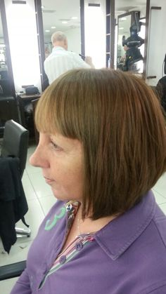 Bob hair and two toned colour!