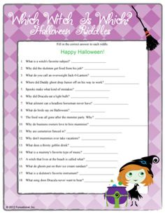 halloween riddles in french