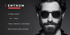 Enthum - MultiPurpose WordPress Theme . Enthum — A Wordpress multipurpose responsive template for Portfolio, Agency, Business, Professional with full of modern features. It could be used for different type of sites: landing page, creative agency, business company, portfolio and many