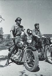Spain - 1936-39. - GC - Las motocicletas republican