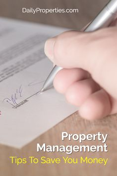 Property Management Tips for Landlords Real Estate News, Real Estate Houses, Management Tips, Property Management, Tampa Homes, Save Your Money, Being A Landlord, Real Estate Marketing, Home Buying