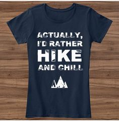 Hike & chill tee