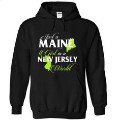 MAINE-NEW JERSEY girl 02Lime - #sudaderas sweatshirt #red sweater. CHECK PRICE => https://www.sunfrog.com/States/MAINE-2DNEW-JERSEY-girl-02Lime-Black-Hoodie.html?68278