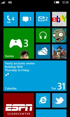 Windows Phone 8 in detail: new Start Screen, multi-core support, VoIP integration, and NFC Windows 10, Windows Phone 7, Building Windows, Start Screen, Mobile Ui Design, Themes Free, Open Letter, Cool Tech, Microsoft Surface