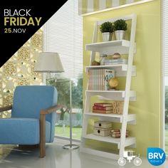A qualidade e o design moderno dos Móveis da BRV estarão presentes na Black Friday! Não perca a oportunidade de renovar a mobília do seu lar com até 70% de desconto!  ▶ https://www.carrodemola.com.br/blackfriday