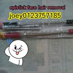 Hot selling epistick face hair removal. Pink.color limited edition and black colour available price only rm20 perpcs postage rm7 west rm10 east wechatjoey2383 or whatsapp 0123757185 joeyshoppingmalls.blogspot.com