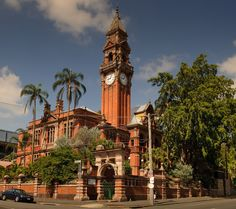 Your Brisbane: Past and Present: South Brisbane Town Hall