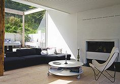 a danish summer home by the style files, via Flickr
