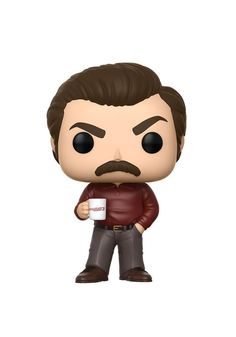 Funko Pop! TV: Parks And Recreation - Ron Swanson