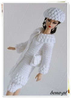 bena-pl Clothes for FR Victoire Roux, Silkstone & Vintage Barbie OOAK outfit   Dolls & Bears, Dolls, Barbie Contemporary (1973-Now)   eBay!