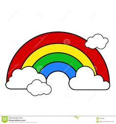 rainbow clipart outline clipart panda free clipart images rh pinterest com rainbow and pot of gold clipart black and white rainbow clipart black and white