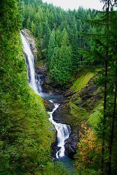 Wallace Falls State Park, Washington state - 1 hr drive from Seattle