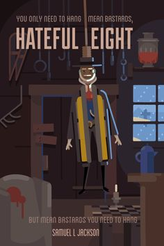 Animated Alternative Poster for The Hateful Eight on Behance