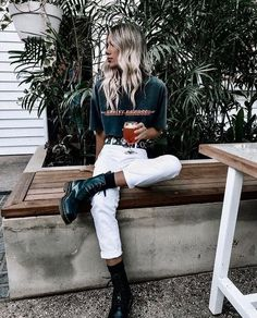 57 Comfy Outfits To Inspire Everyone - Fashion New Trends - style Perfect Casual Style Looks - Mode Outfits, Trendy Outfits, Fashion Outfits, Fashion Clothes, Fashion Boots, Spring Summer Fashion, Spring Outfits, Autumn Fashion Curvy, Winter Fashion