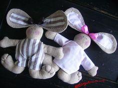 Petits lapins tissu
