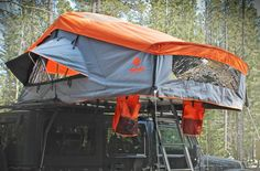 Three Rooftop Tents for Summer Adventures - Cool Hunting