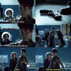 Selina Kyle, Fish Mooney, Gotham, Gotham Season 3