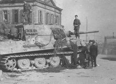 Without doubt the most powerful tracked combat weapons to see service in WW2 were the Jagdtiger self-propelled guns, based upon the Tiger II tank. They were assembled at a factory in Austria but Allied bombing curtailed production so that only 88, out of 150 ordered, were ever completed