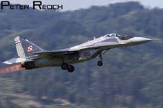 105 / Polish Air Force / MiG-29 Fulcrum