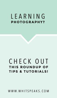 Beginner Photography Tips